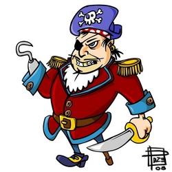 Pirata de palo