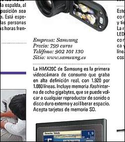 Falsa novedad de Samsung