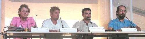 debate edificio El Faro