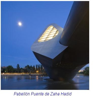 Pabellon puente de Zaha Hadid