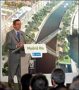 Ruiz Gallardón presenta Madrid Rio