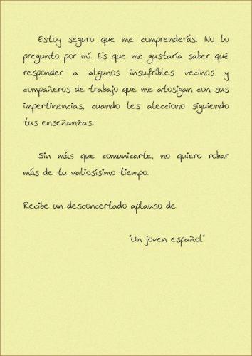 Carta a Jose Maria Aznar pagina 4