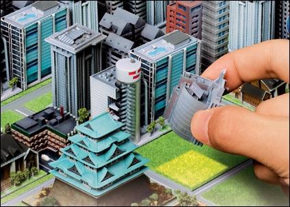 alcaldes jugando al sim city 1