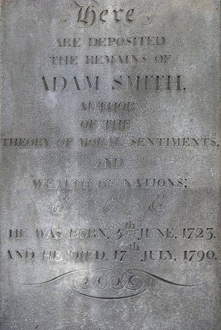 Tumba de Adam Smith