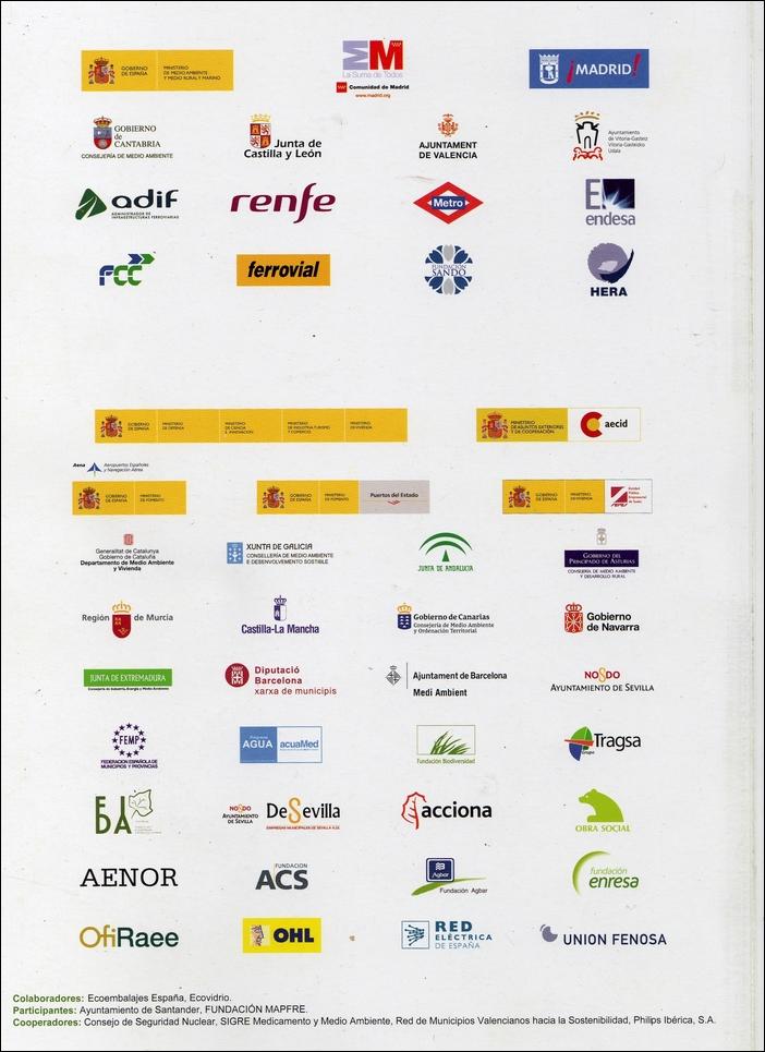 Los patrocinadores «ecologistas» de CONAMA