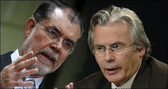 Mariano Fernández Bermejo y Baltasar Garzón