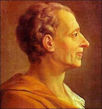 El barón de Montesquieu