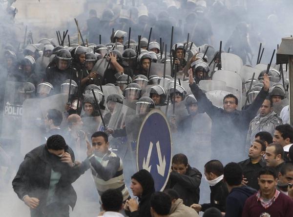 EGIPTO PROTESTA