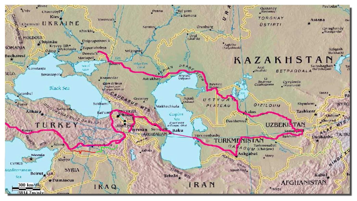 Raid Samarkanda 2011