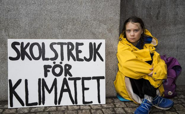 Greta Thunberg: «Huelga escolar por el clima»